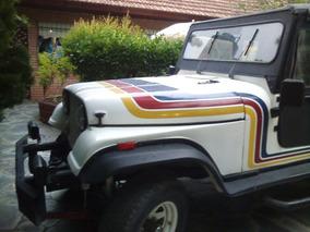 Jeep Ika Mcj Chasis Tubular Competicion