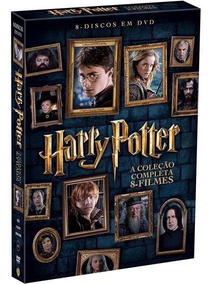 Harry Potter - Coleção Dvd Box Original Lacrado 8 Filmes