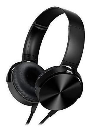 Fone De Ouvido Headphone Preto Hs208*