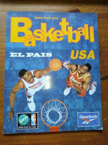 Álbum Figuritas Basketball Nba Usa Completo (el Pais)