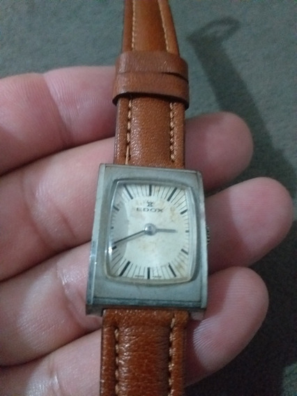 Relógio Suiço Edox 28201 De 1930 Perfeito Estado Funcionando