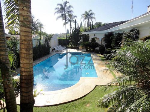 Casa Residencial À Venda, Residencial Parque Rio Das Pedras, Campinas - Ca0335
