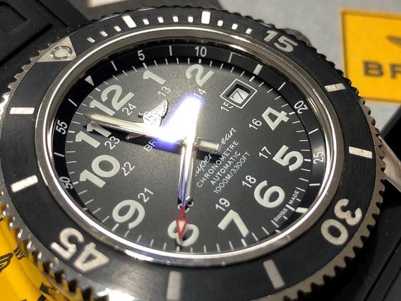 Breitling Superocean Na Caixa Completo Suíço Como Omega Tag