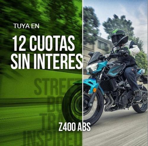 Kawasaki Z400 2021 0km Abs Ahora 12 Cuotas Sin Interés