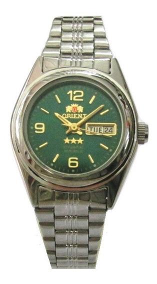 Relógio Orient Automático Feminino Fnq1x004w9 Semi Novo