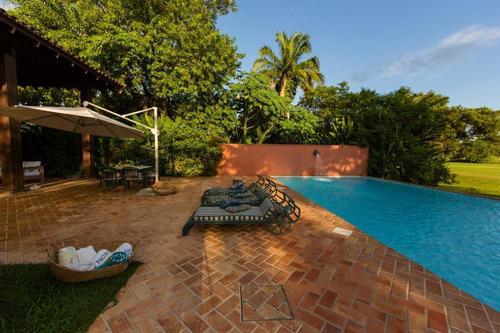 Imagem 1 de 30 de Casa À Venda, 576 M² Por R$ 4.500.000,00 - Balneário Praia Do Pernambuco - Guarujá/sp - Ca1555