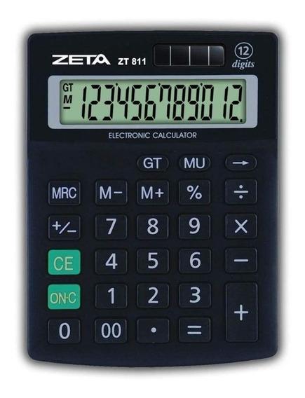 Calculadora De Mesa 12 Digitos 811 Zeta Novo