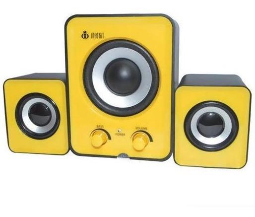 Caixa Som Stereo Usb 500w 2.0 Hi-fi 8w Rms Bass Ressonante