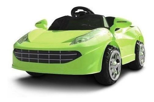 Mini Carro Elétrico Bateria Recarregável Carrinho Farol Ré
