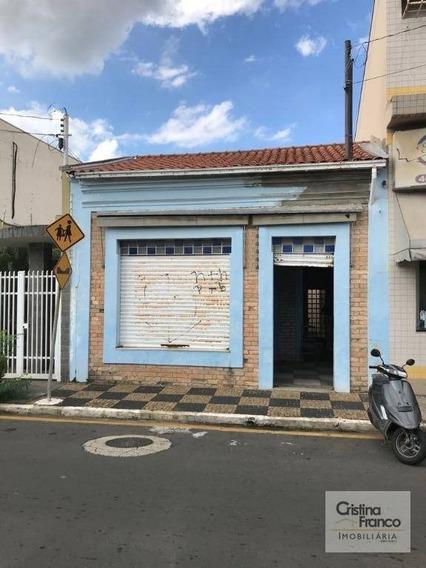 Casa Comercial À Venda, 127 M² Por R$ 500.000 - Vila Nova - Itu/sp - Ca2132