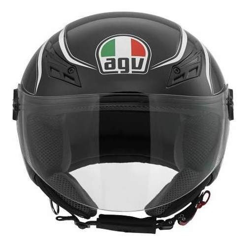 Agv Cap Blade Tab Black/white 58/m