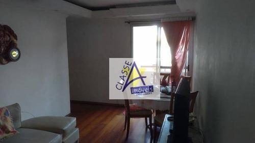 Apartamento Com 2 Dormitórios À Venda, 55 M² Por R$ 148.000,00 - Parque São Vicente - Mauá/sp - Ap0721