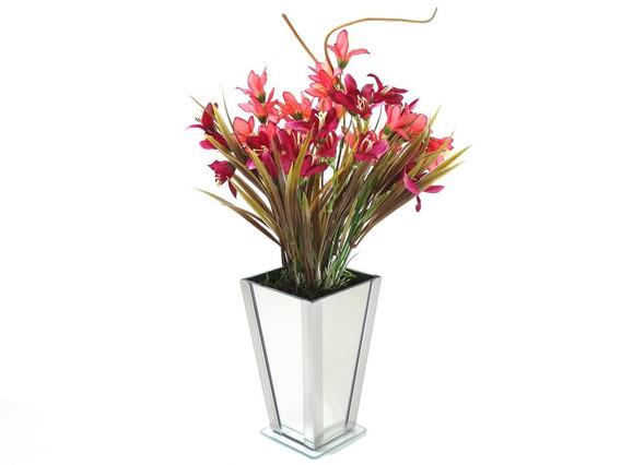 Kit 10 Vasos De Vidro Decorativos