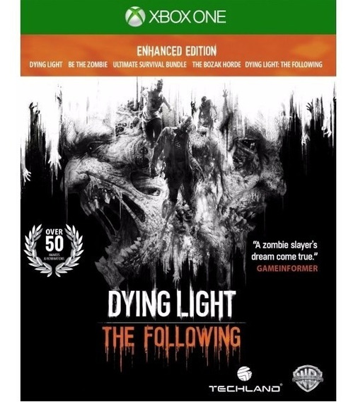 Dying Light: The Following (mídia Física) Xbox One (novo)