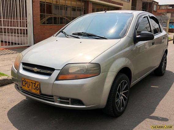 Chevrolet Aveo 1600icc Mt Aa Ab Dh Fe