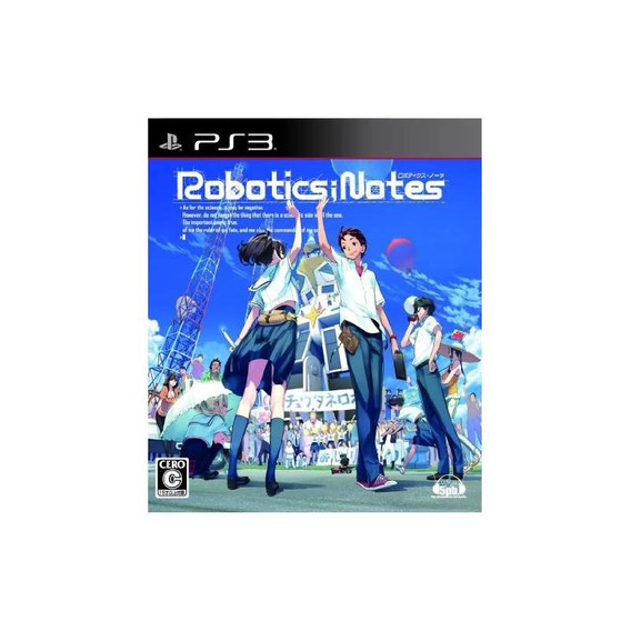 Roboticsnotes [regular Edition] [japan Import]