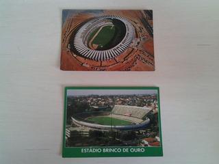 Cartão Postal Estadio De Futebol - Campinas E Belo Horizonte