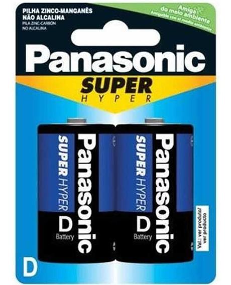 Pilha Gde Zinco D 2 Unidades Um-1shs Panasonic Panasonic