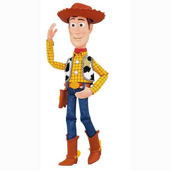 Figura Comisario Woody Con Cuerda Toy Story 4
