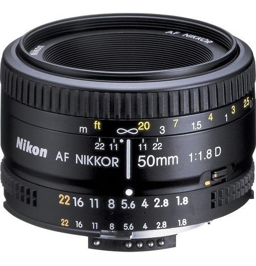 Lente Nikkor 50mm 1:8f