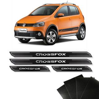 Kit Soleira Diamante E Protetor De Porta Crossfox Cross Fox