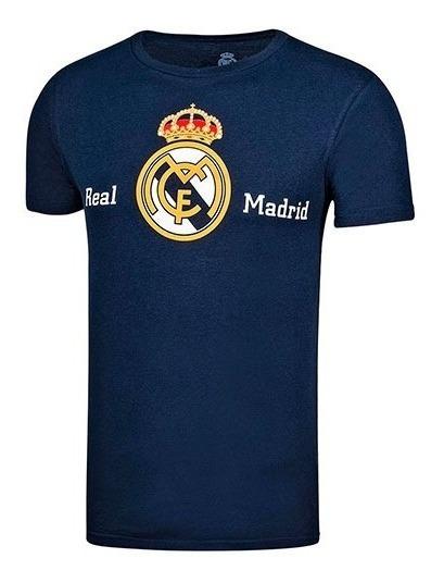 Playera Real Madrid Licencias Aurimoda 66645 + Envio Dgt