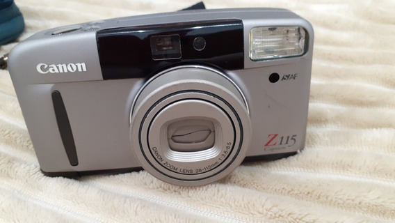 Câmera Fotográfica Canon Sure Shot 60 Zoom, Analógica. Filme