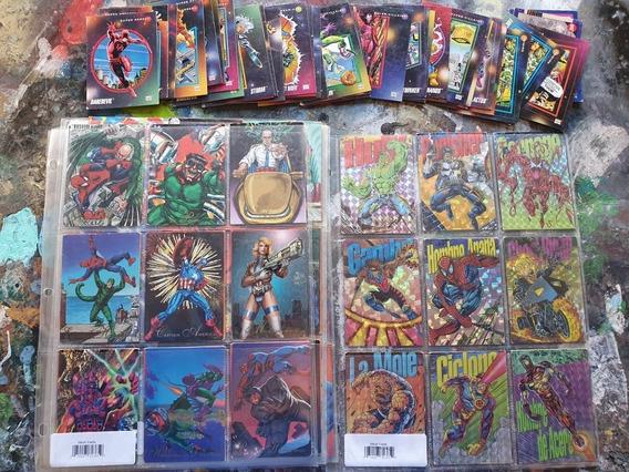 Pepsi Cards Lote Marvel Y Dc