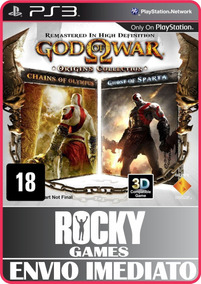 Jogo God Of War Origins Collection Ps3 | Promoção Psn |