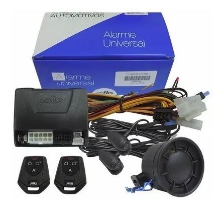 Alarme Automotivo Universal C/ Antifurto - 2 Controles Fks