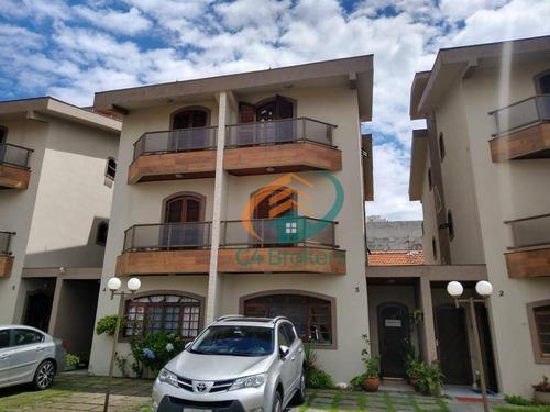 Sobrado Com 4 Dormitórios À Venda, 150 M² Por R$ 850.000,00 - Vila Augusta - Guarulhos/sp - So0743