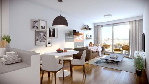 Apartamento 2 Dormitorios En El Centro- Ref: 6922