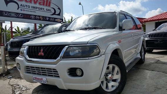 Mitsubishi Montero Sport 4wd Blanca 2001