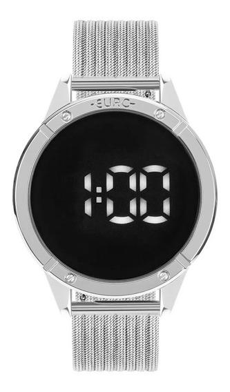 Relógio Feminino Euro Fashion Fit Touch Prata Eubj3912ad/4f