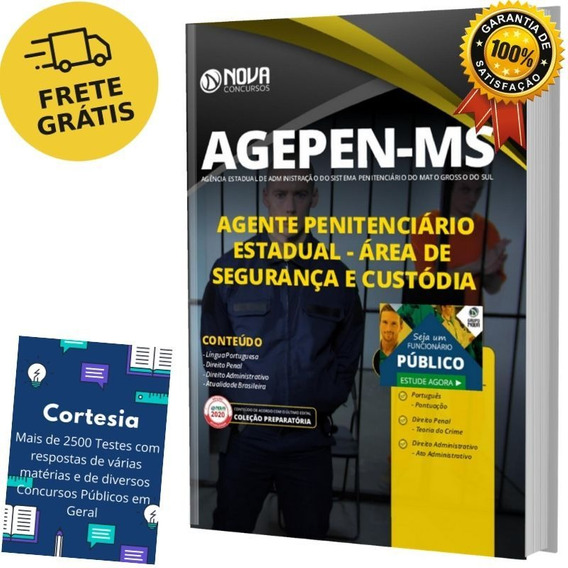 Apostila Agente Penitenciário Mato Grosso Do Sul - Agepen Ms
