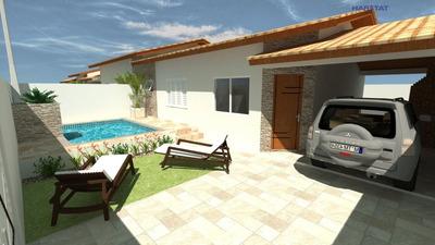 Casa A Venda No Bairro Cibratel 2 Em Itanhaém - Sp. - 1245-7414