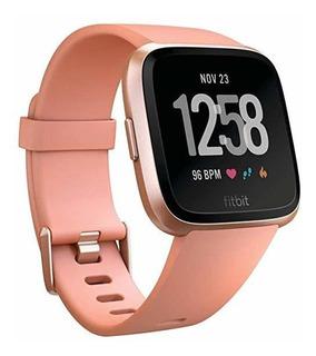 Smartwatch Fitbit Versa Smart Watch Peach Rose Gold Alumin ®