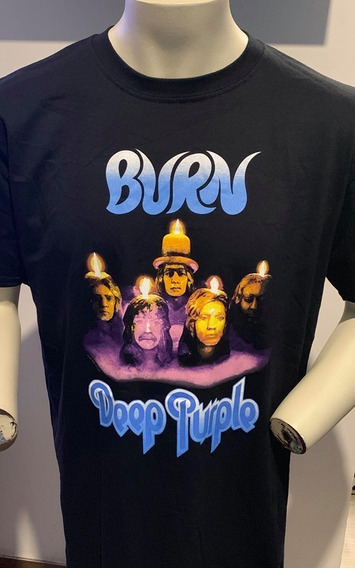 Deep Purple Burn T-shirt Merch Official Import