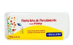 Masa Blanca Porcelanicrón De Libra 500 Gr Doña Patty Buller