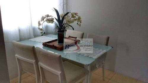 Imagem 1 de 12 de Apartamento Com 3 Dormitórios À Venda, 80 M² Por R$ 420.000,00 - Jardim Flor Da Montanha - Guarulhos/sp - Ap1555