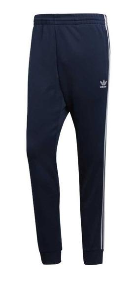 Pantalon adidas Originals Tracksuit Sst Tp Moda Hombre-12807