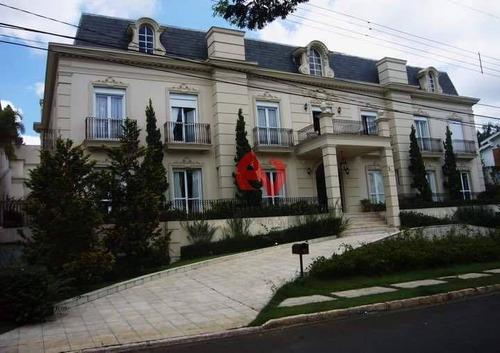 Imagem 1 de 30 de Casa Com 7 Dormitórios, 998 M² - Venda Por R$ 12.000.000,00 Ou Aluguel Por R$ 50.000,00/mês - Alphaville - Barueri/sp - Ca5762