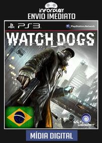 Watch Dogs Dublado Portugues Ps3 Psn Envio Imediato