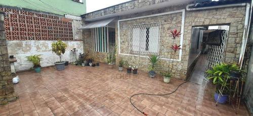 Imagem 1 de 15 de Casa Com 3 Dormitórios À Venda, 160 M² Por R$ 330.000,00 - Castelo - Santos/sp - Ca1862