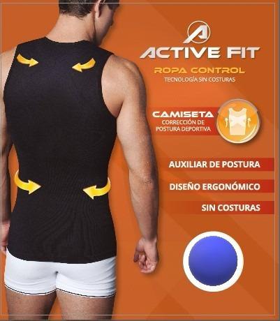 Camiseta Correctora De Postura Sport Active Fit