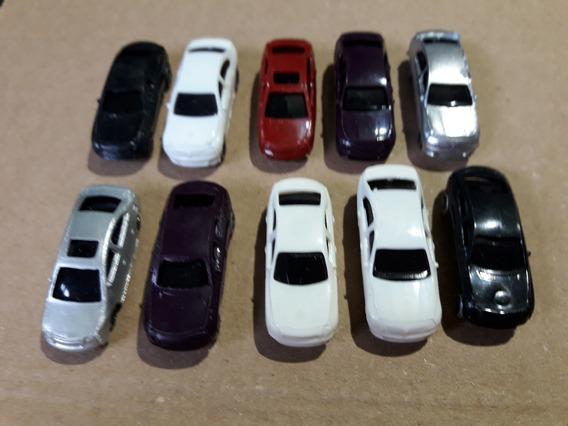 Automóveis Escala N Lote 10 Miniaturas - Maquete Tren