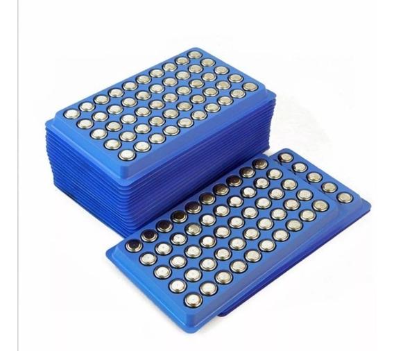 Cartela 50 Baterias Ag10 Lr1130 Laser Relógio Vela Led