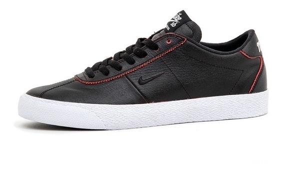 Zapatillas Nike Sb Bruin Zoom Premium X Nba 001 Cuero Negro