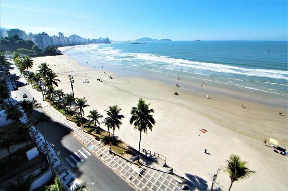 Guarujá-frente Total Para O Mar-01 Dormitório-01 Vaga - Ap2966
