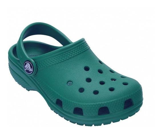 Crocs Classic Kids Verde Esmeralda